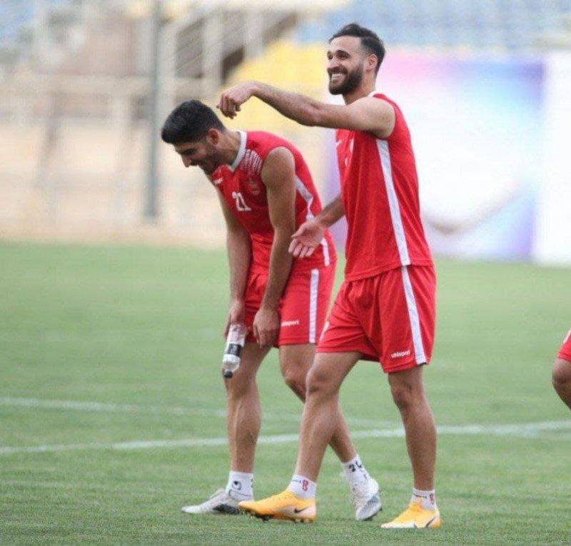 احمد نور با لبخند به استقبال جبران میرود(عکس)