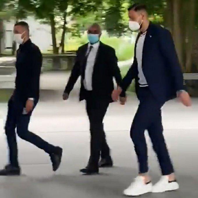 ستاره جدید PSG وارد پاریس شد (عکس)