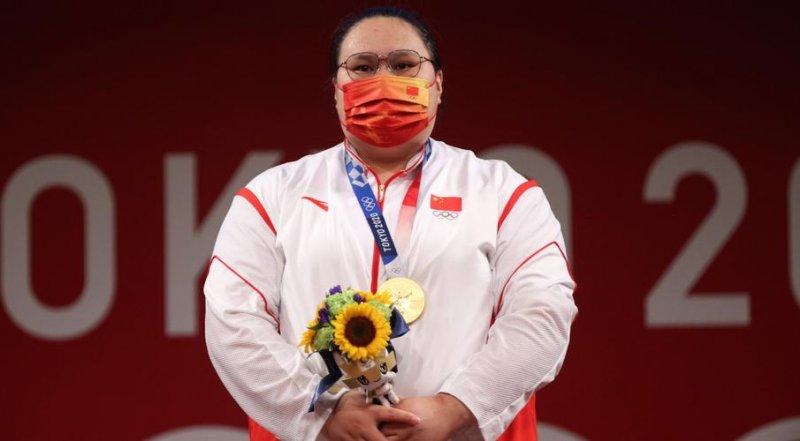 طلای وزنه برداری با طعم رکودشکنی برای ستاره چینی