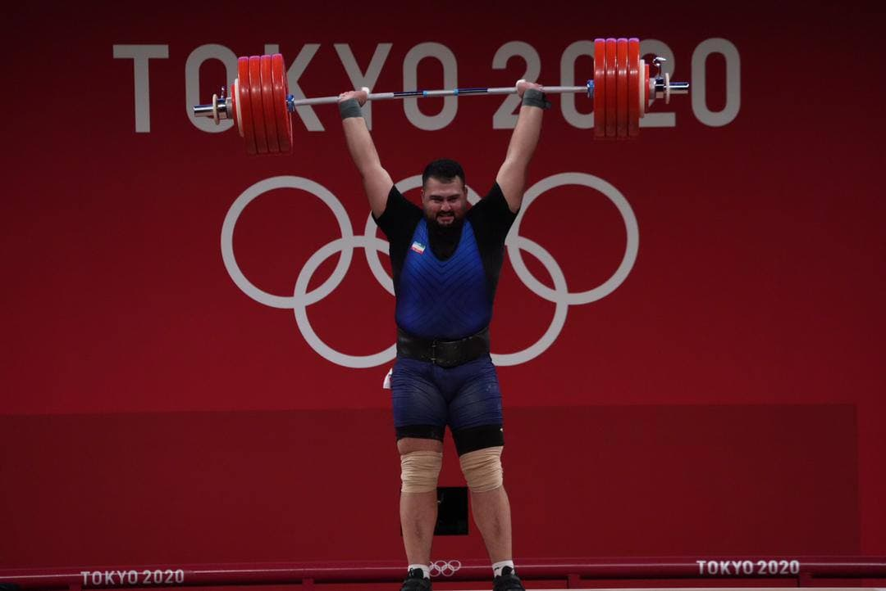 غول گرجستانی با رکوردهای جادویی قویترین مرد المپیک شد/ علی داوودی، مرد نقره ای ایران