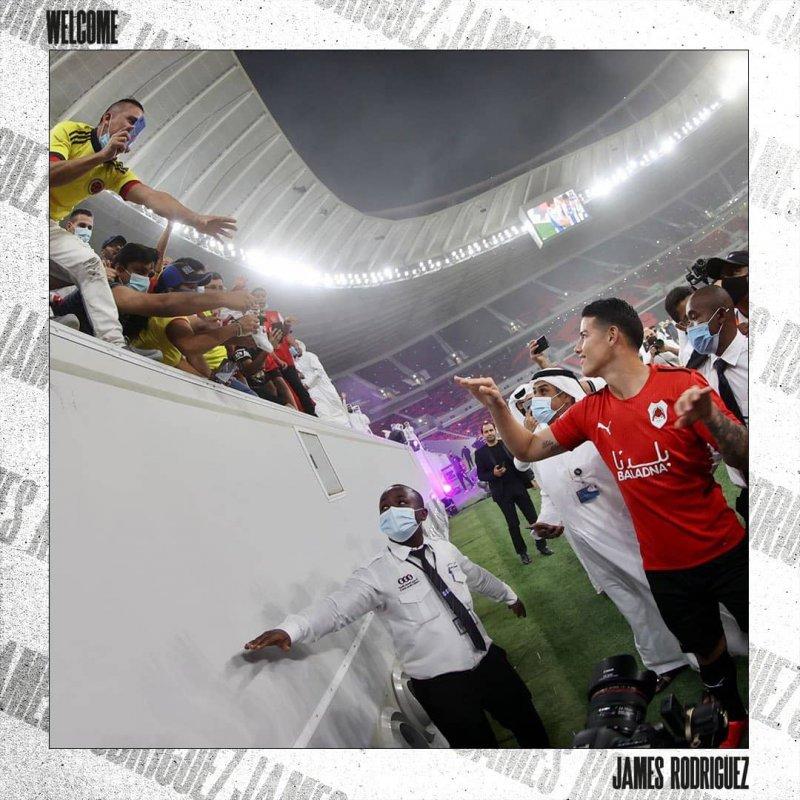 برگزاری مراسم معارفه خامس در ورزشگاه الریان/عکس