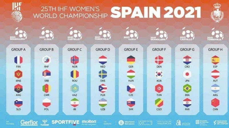 تیمهای حاضر در مسابقات هندبال زنان مشخص شدند