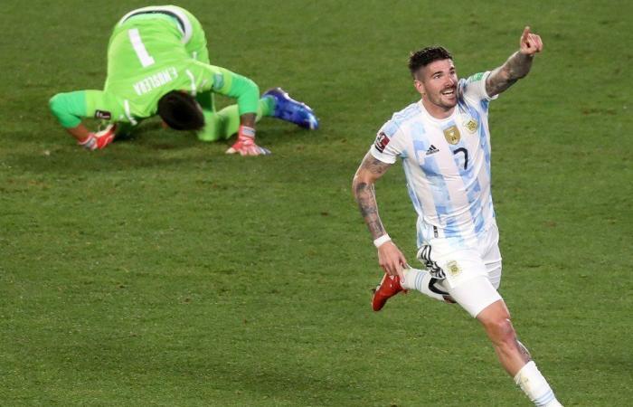 حرکت جالب ستاره آرژانتین خوش یمن بود
