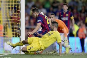 پیش بازی آپوئل- بارسلونا