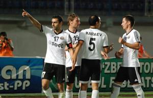 پیروزی نسف قارشی در بازی تشریفاتی