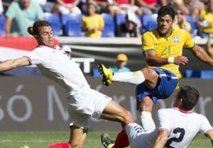 پیروزی خفیف برزیل مقابل کاستاریکا