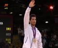 مراسم اهدای مدال طلای امید نوروزی