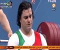 کسب مدال طلا علی حسینی در پاورلیفتینگ