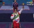 مراسم اهدای مدال طلا سیامند رحمان