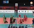 پیروزی والیبال نشسته ایران مقابل انگلیس