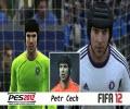 مقایسه چهره بازیکنان در pes12 وfifa12