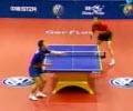 بازی عجیب در پینگ پنگ
