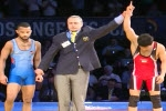 پیروزی رحیمی در اولین مسابقه با آمریکا