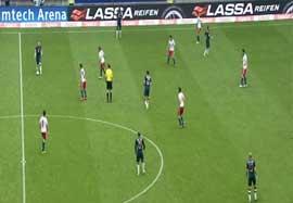 هامبورگ ۱-۴ بایرن مونیخ (خلاصه بازی)