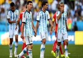 آرژانتین ۱-۰ سوئیس