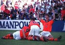 آرژانتین – هلند (مرحله حذفی ۱۹۹۸)