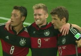 گل اول آندره شورله؛ برزیل – آلمان