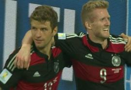 گل دوم آندره شورله؛ برزیل – آلمان