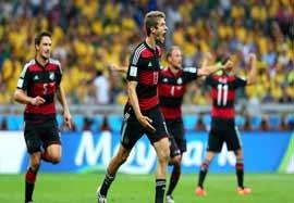 برزیل ۱-۷ آلمان