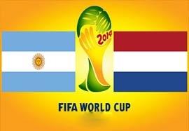 تقابل آرژانتین و هلند در تاریخ جام جهانی