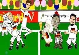 انیمیشن بازی آرژانتین – آلمان