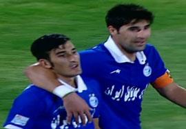 استقلال ۱-۰ استقلال خوزستان