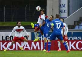ایسلند ۳-۰ ترکیه