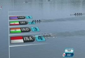 نتایج مسابقات قایقرانی – روئینگ زنان و مردان تیم ملی در روز اول مسابقات آسیایی