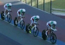 مسابقه دوچرخه سواری ۴ نفره تعقیبی مردان