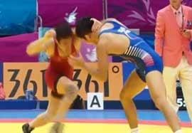شکست رحیمی مقابل نماینده کره جنوبی