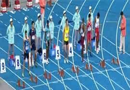 صعود قاسمی و تفتیان به مرحله نیمه نهایی ۱۰۰ متر