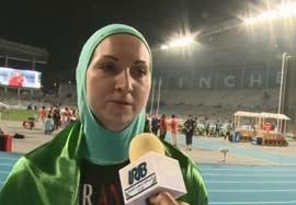 مصاحبه با لیلا رجبی بعد از کسب مدال نقره