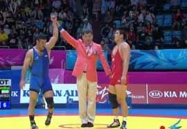 پیروزی رضا یزدانی مقابل نماینده کره