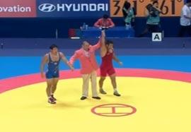 پیروزی جوکار مقابل نماینده کره