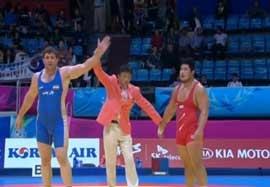 پیروزی هادی مقابل نماینده کره