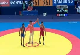 کسب مدال طلا توسط اسماعیل پور