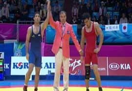 پیروزی عبدولی مقابل نماینده قزاقستان