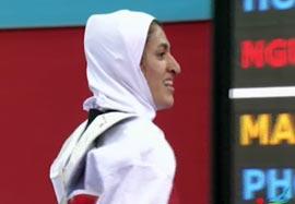پیروزی حاجی پور مقابل نماینده تایلند
