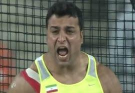 کسب مدال طلا توسط حدادی