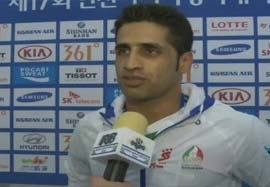 گزارشی از پیروزی تیم کبدی ایران مقابل کره جنوبی