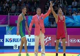 پیروزی بویری مقابل نماینده ازبکستان