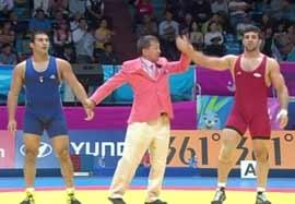 پیروزی کریم فر مقابل نماینده اردن