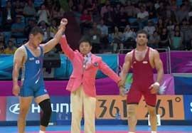 شکست کریم فر مقابل نماینده کره