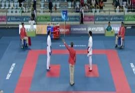کسب مدال طلا کاراته بانوان توسط عباسعلی
