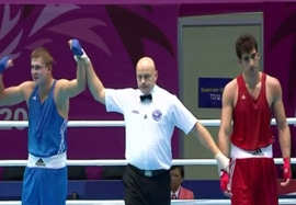 شکست مظاهری برابر حریف قزاق در فینال