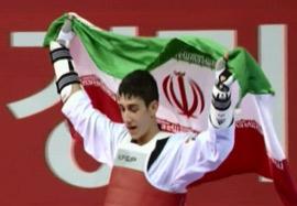 طلای فرزان آشورزاده در تکواندو