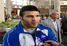 بازگشت تیم ملی کشتی آزاد به ایران