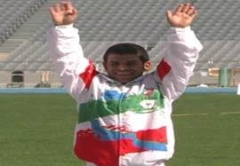 کسب مدال طلا  بیت سیاح در پرتاب دیسک