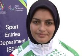 نائب قهرمانی فائزه کرمانی در پرتاب وزنه