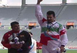 کسب مدال طلا پرتاب وزنه توسط سورانی